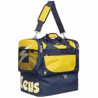 Zeus Borsa Delta Sac de sport pour le foot Navy jaune