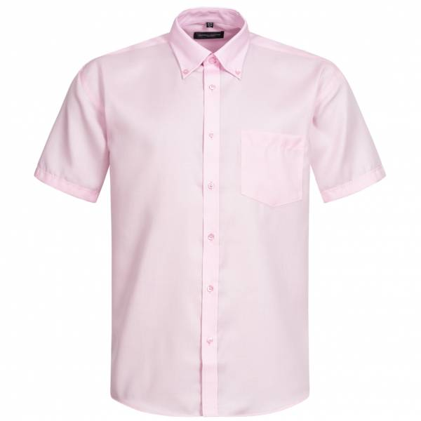 RUSSELL Short Sleeve Ultimate Non-iron Herren Hemd 0R957M0-Classic-Pink