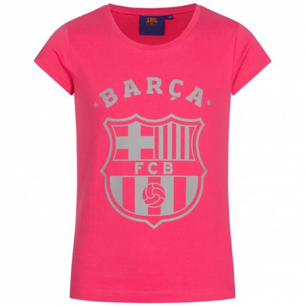 FC Barcelona Barca 1899 Mädchen T-Shirt FCB-3-002 dunkel rosa