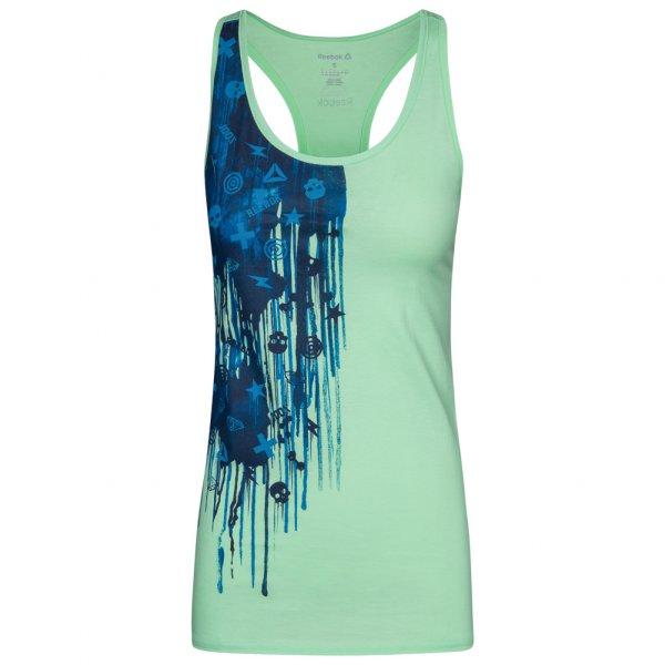 Reebok Icon Drip DamenTank Top Fitness Shirt AJ2593