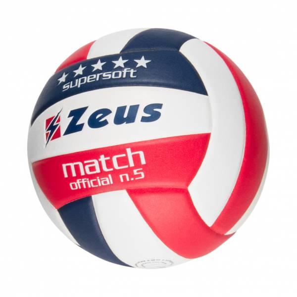 Zeus Match Volleyball Navy Rot