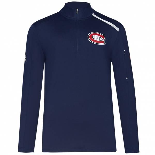Canadiens de Montreal Fanatics 1/4-Zip Herren Trainings Sweatshirt MA2745062K45U