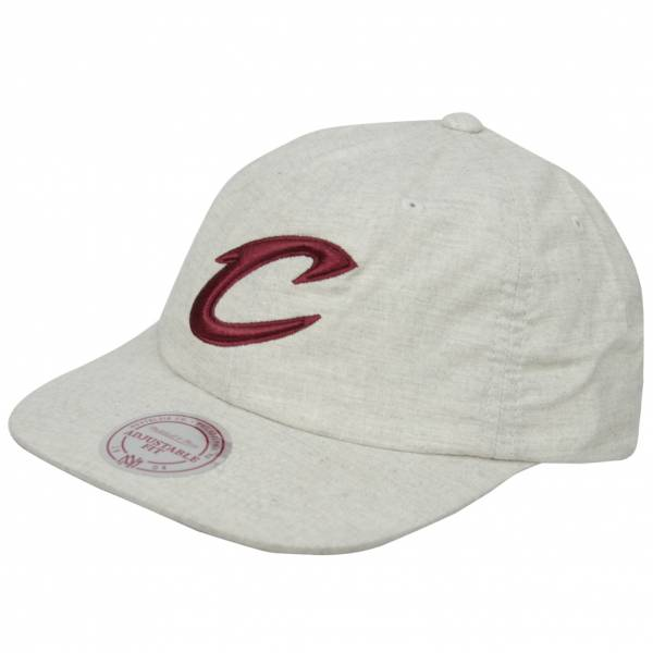 Mitchell & Ness Cleveland Cavaliers NBA Cappellino melange MN-NBA-VY84Z-CLECAV-WHT