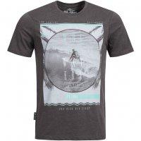 Sth. Shore Surf School Herren T-Shirt 1C9945 Dark Grey Marl