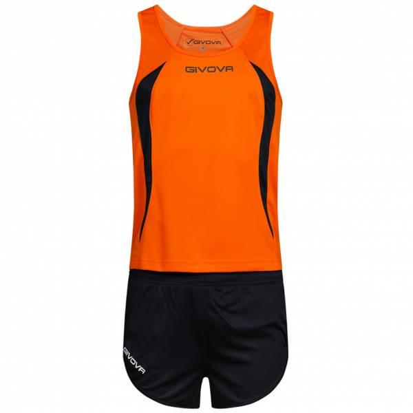 Givova Kit Boston Zestaw lekkoatletyczny Koszulka bez rękawów ze spodenkami KITA02-0123