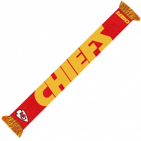 Kansas City Chiefs NFL Scarf Wordmark Fan Scarf SVNF14WMKC
