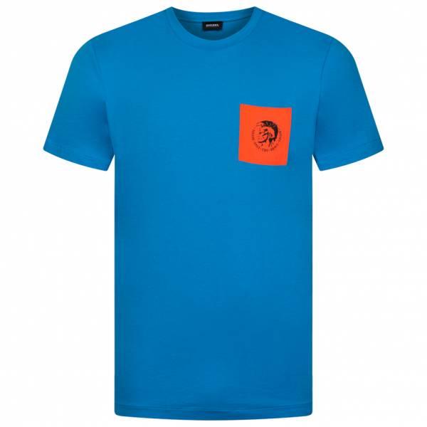 Diesel Bmowt-Diego Herren T-Shirt 00SY99 RQAZA 8HE