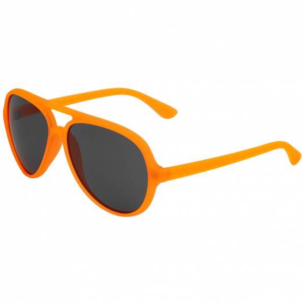 MSTRDS Aviator UV400 Piloten zonnebril 10455 neon oranje