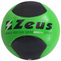Zeus Beach Soccer Balón de fútbol Neón Verde Negro