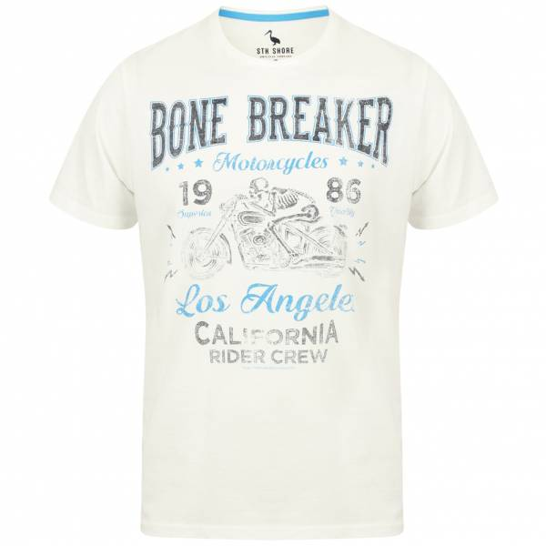 South Shore Bone Breaker Herren T-Shirt 1C12431 Ivory