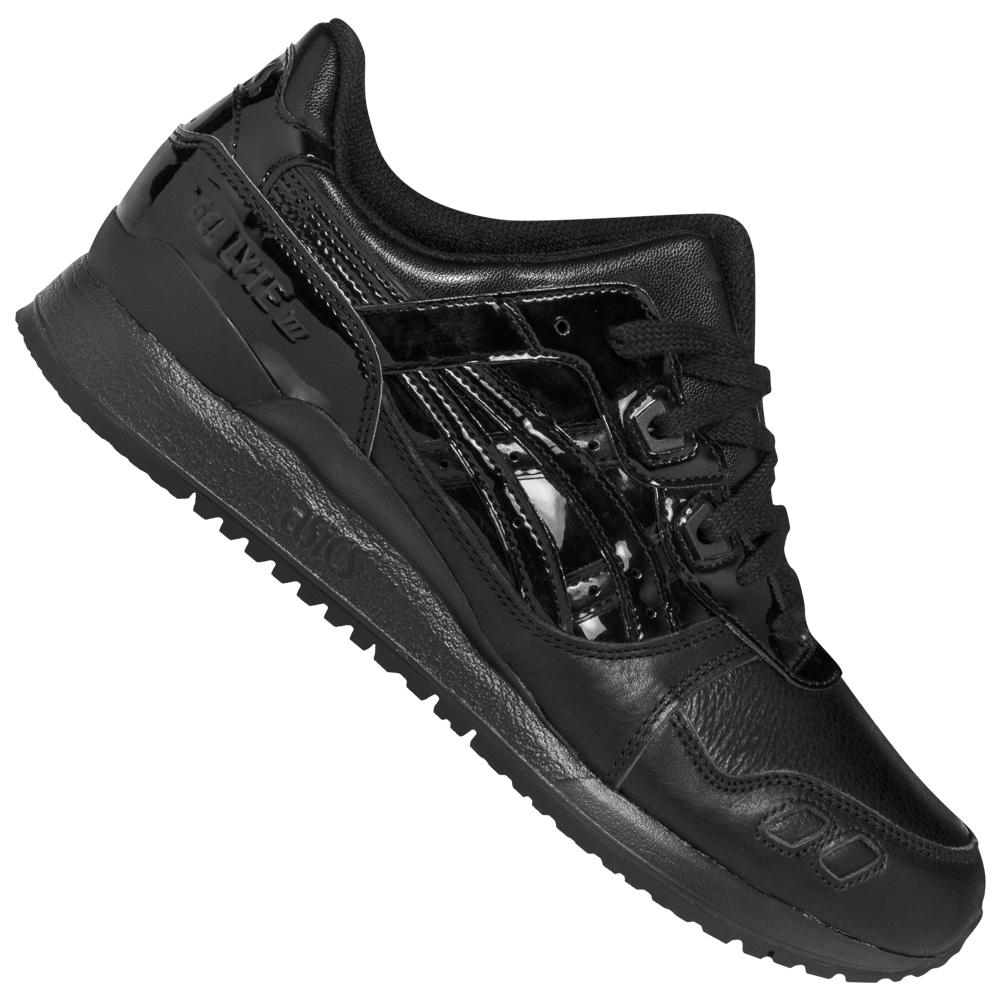 asics all black shoes