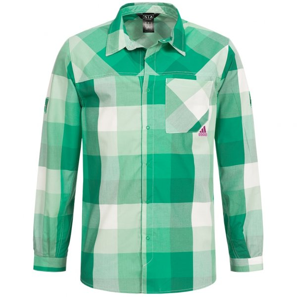 adidas Outdoor Herren Hemd Climalite Flannel Z19634