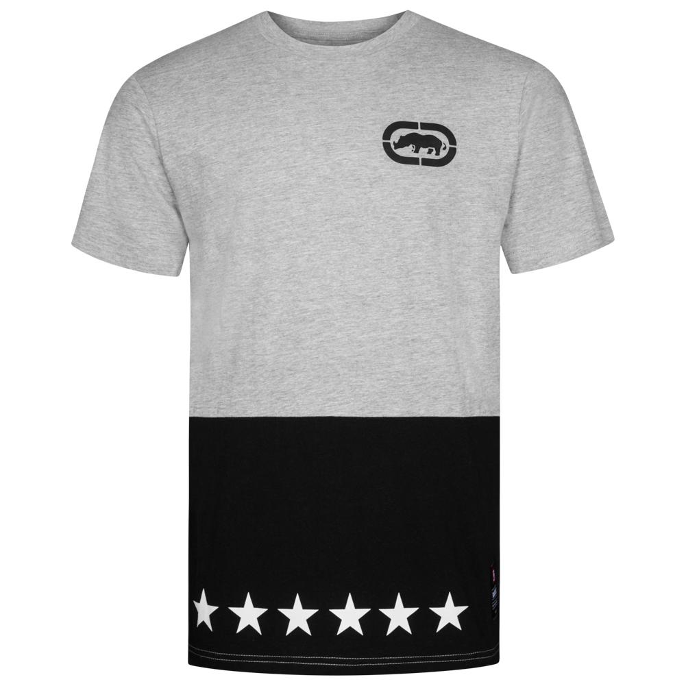Homme UnltdTee Contrast Shirt Gris Star Esk4375 Marl Ecko SUMVpqz