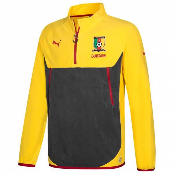 Kamerun PUMA Herren Trainings Fleece Sweatshirt 748540-01
