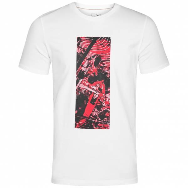 PUMA x Ferrari Graphic Motorsport Herren T-Shirt 573464-03