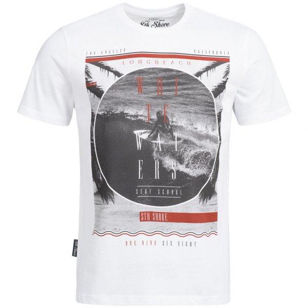 Sth. Shore Surf School Herren T-Shirt 1C9945 Optic White
