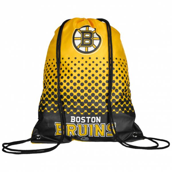 Boston Bruins NHL Fade Drawstring Gym Bag LGNHLFADEGYMBBU