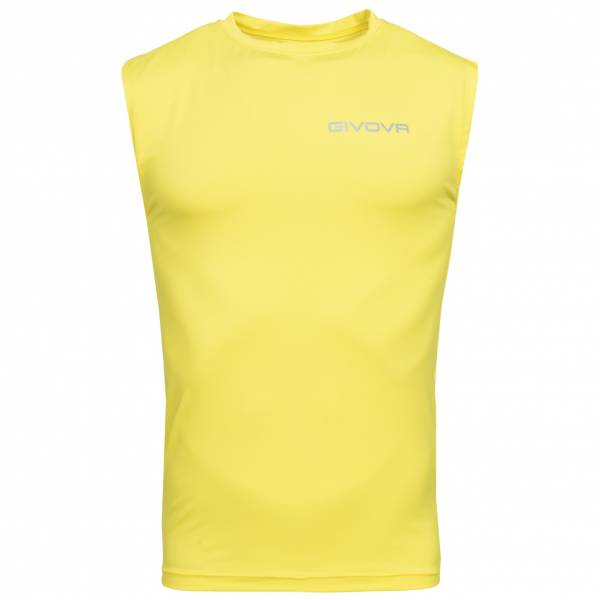 "Givova Tank Top Sports Top ""Corpus 1"" yellow"