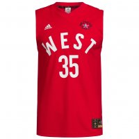 NBA All Star West adidas Basketball Trikot #35 Durant AC2641