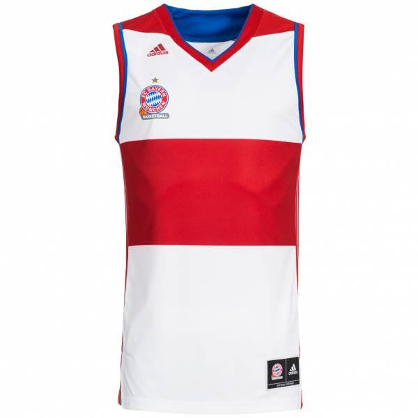 FC Bayern München adidas Basketball Trikot FCB ...