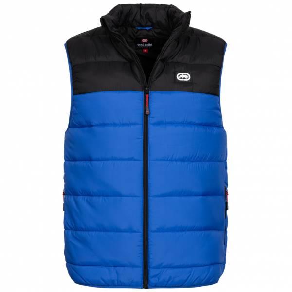 Ecko Unltd. Lumber Men Quilted Vest ESK04565 Black Royal