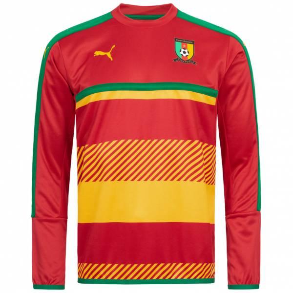 Kamerun PUMA Herren Trainings Sweatshirt 748539-02