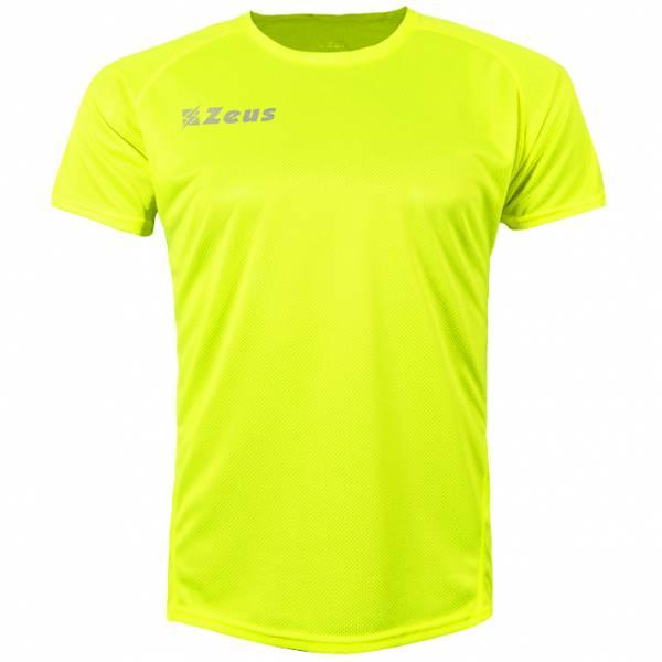 Zeus Fit Camiseta de entrenamiento amarillo neón