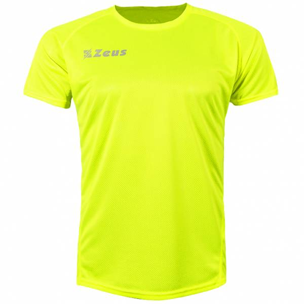 Zeus Fit Trainings Shirt neon gelb