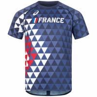 Frankreich ASICS Leichtathletik Shirt A17A39-52FR