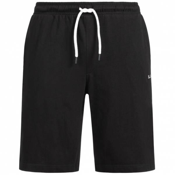 BEN SHERMAN Herren Sweat Shorts 0058687-290 Black