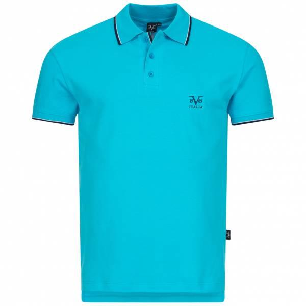 19V69 Versace 1969 Costina Herren Freizeit Polo-Shirt VI20SS0005B türkis