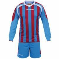 Givova Kit Rumor Fußball Set Langarm Trikot + Short KITC25-0212