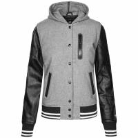 Nike NSW Destroyer Jacket Damen Leder Jacke 409731-063