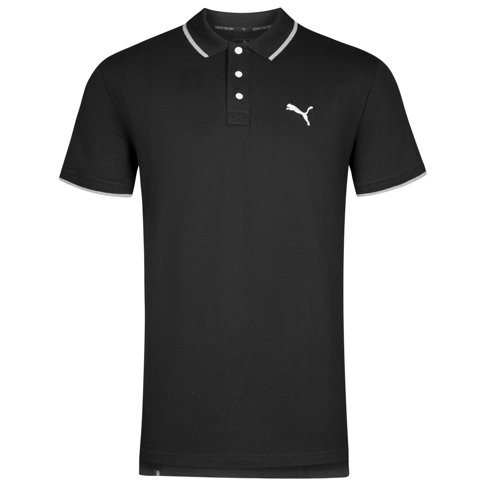 puma herren hero polo shirt 838303 01 sportspar. Black Bedroom Furniture Sets. Home Design Ideas