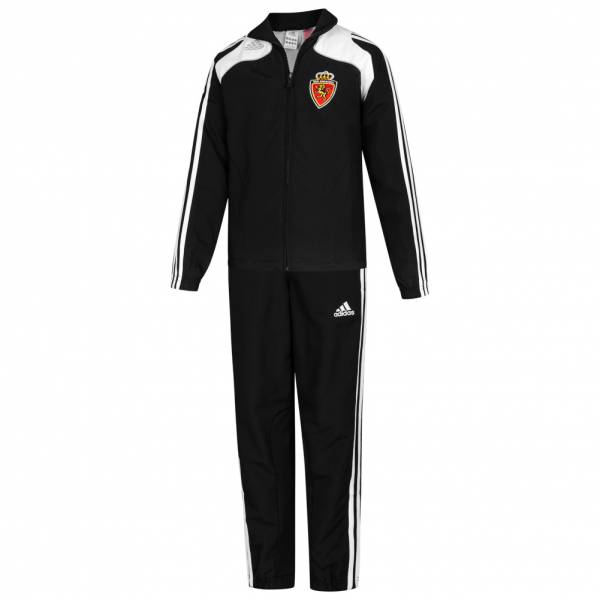 Real Saragossa adidas Track Suit Kinder Trainingsanzug 191661