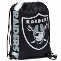 Oakland Raiders NFL-trekkoord Rugzak Gymtas LGNFLCLGYMOR