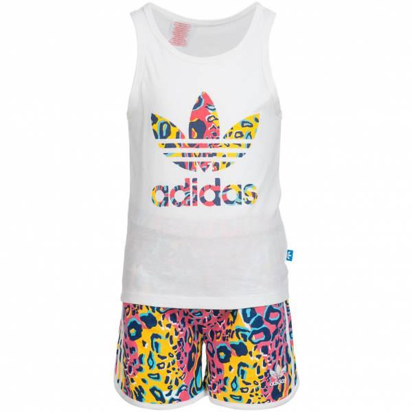 adidas Soccer Baby Tank Top Set Shirt + Shorts 2 teilig AI9998