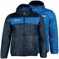 Zeus Giubbotto Apollo 2en1 Hommes Veste réversible Navy Royale