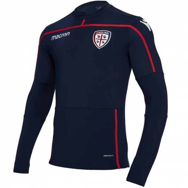 Cagliari Calcio macron Herren Trainings Sweatshirt 58030563