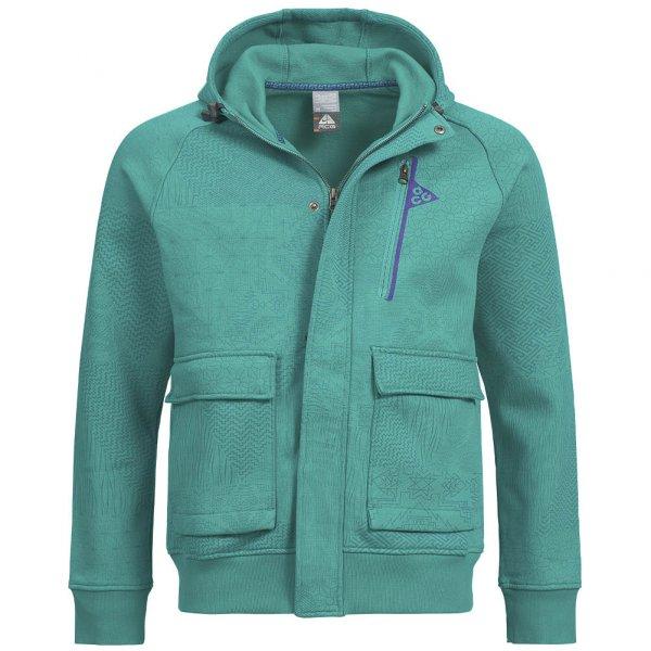 Nike Herren Full- Zip Hoody Kapuzen Sweat 266148-372