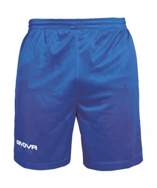 Givova Fussball Short Ibiza blau