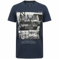 DNM Dissident Stations Men T-shirt 1C12386 Sargasso Blue