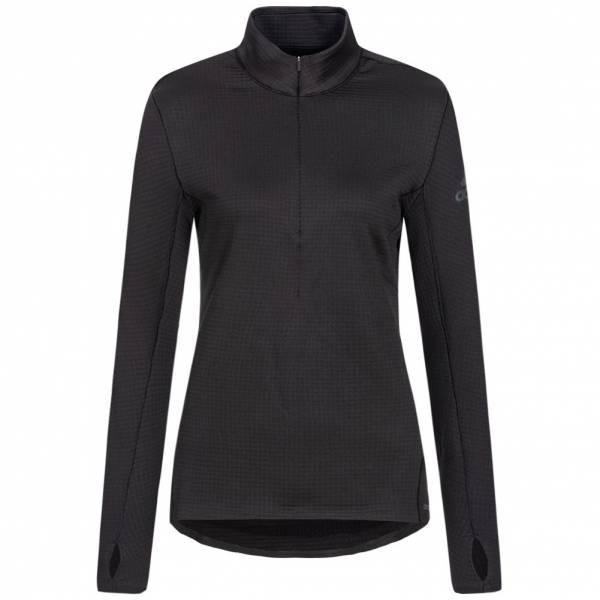 adidas Climaheat 1/2 Zip Tee Damen Laufshirt AX8591