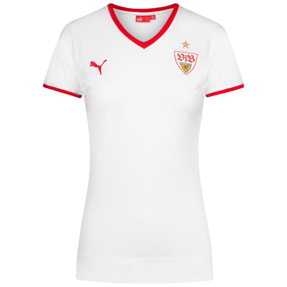 Vfb Stuttgart Puma Damen Graphic T Shirt 736001 21 Sportspar