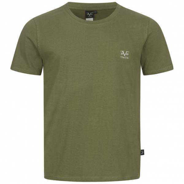 19V69 Versace 1969 Basic Logo Herren T-Shirt VI20SS0007B grün