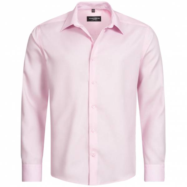 RUSSELL Longsleeve Tailored Non-iron Herren Hemd 0R958M0-Classic-Pink