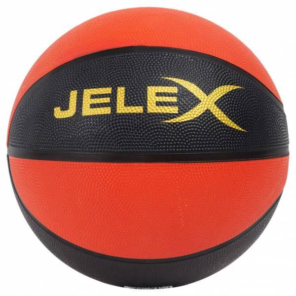 JELEX Sniper Ballon de basket noir-orange