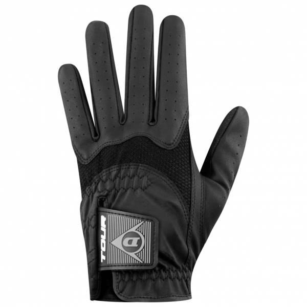 Dunlop Uomo Guanto da golf mano sinistra per destrimani nero