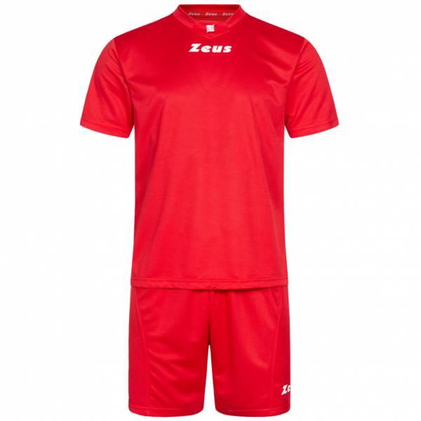 Zeus Kit Promo Conjunto de fútbol 2 piezas rojo