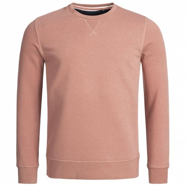 BRAVE SOUL Jones Plain Rib Detail Herren Sweatshirt MSS-69JONESP Winter Pink